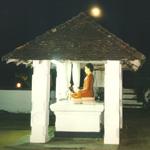 Die Stille eines Tempels