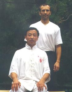 Meister Yao Chengrong mit seinem Schüler Walter Marek